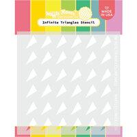 Waffle Flower Crafts - Stencils - Infinite Triangles