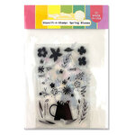 Waffle Flower Crafts - Hope Collection - Stencil-n-Stamp - Spring Blooms