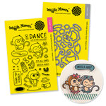 Waffle Flower Crafts - Craft Die and Acrylic Stamp Set - Willy and Friends Bundle