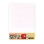WorldWin - 8.5 x 11 Metallic Translucent Vellum - Confetti, CLEARANCE
