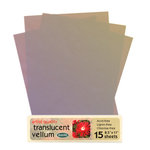 WorldWin - 8.5 x 11 Metallic Translucent Vellum - Iris, CLEARANCE