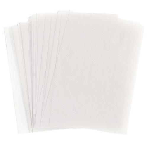 WorldWin - 8.5 x 11 Translucent Vellum - 50 Sheets - Clear 29 Pound