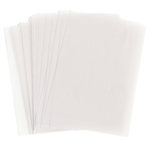 WorldWin - 8.5 x 11 Translucent Vellum - 50 Sheets - Clear 48 Pound, CLEARANCE