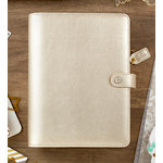 Websters Pages - Color Crush Collection - A5 Planner Binder - Champagne