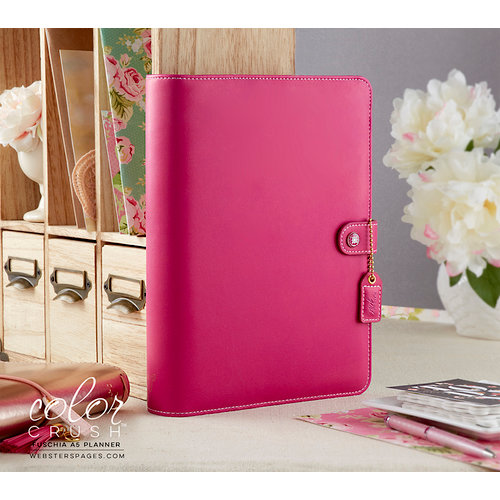 Websters Pages - Color Crush Collection - A5 Planner - Fuchsia