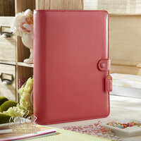 Websters Pages - Color Crush Collection - A5 Planner Binder - Light Pink