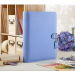 Websters Pages - Color Crush Collection - A5 Planner - Periwinkle
