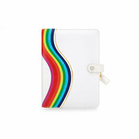 Websters Pages - Color Crush Collection - A5 Planner Binder - Rainbow