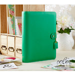 Websters Pages - Color Crush Collection - A5 Planner - Summer Green