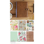 Websters Pages - Color Crush Collection - A5 Planner Kit - Walnut - Jan. 2016 to Dec. 2016