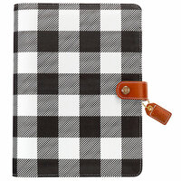 Websters Pages - Color Crush Collection - A5 Planner Kit - Buffalo Plaid - Undated