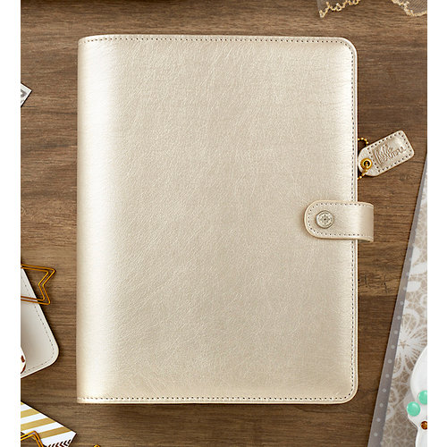 Websters Pages - Color Crush Collection - A5 Planner Kit - Champagne - Undated
