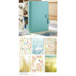 Websters Pages - Color Crush Collection - A5 Planner Kit - Light Teal