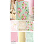 Websters Pages - Color Crush Collection - A5 Planner Kit - Mint Floral