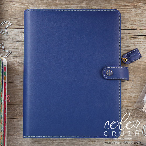 Websters Pages - Color Crush Collection - A5 Planner Kit - Navy - Undated