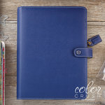 Websters Pages - Color Crush Collection - A5 Planner Kit - Navy