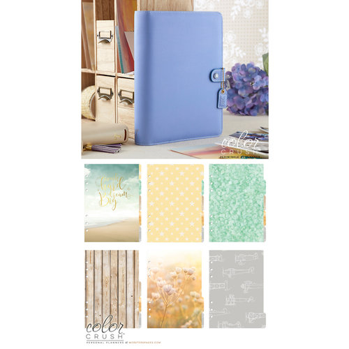 Websters Pages - Color Crush Collection - A5 Planner Kit - Periwinkle - Undated