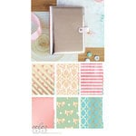 Websters Pages - Color Crush Collection - A5 Planner Kit - Platinum Rose