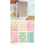 Websters Pages - Color Crush Collection - A5 Planner Kit - Platinum Rose - Jan. 2016 to Dec. 2016
