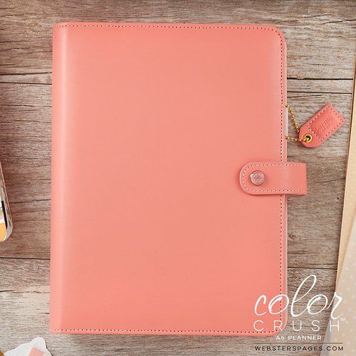 Websters Pages - Color Crush Collection - A5 Planner Kit - Pretty Pink - Undated
