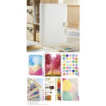 Websters Pages - Color Crush Collection - A5 Planner Kit - White