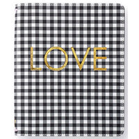 Websters Pages - Color Crush Collection - A5 Traveler's Notebook with Journal Kit - Black Check