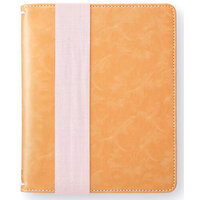Websters Pages - Color Crush Collection - A5 Traveler's Notebook with Journal Kit - Camel