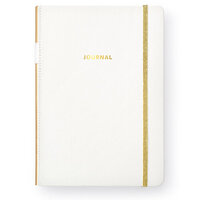Websters Pages - Color Crush Collection - Bullet Journal - White Leather