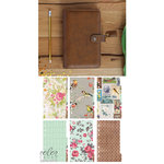 Websters Pages - Color Crush Collection - Personal Planner Kit - Walnut - Undated