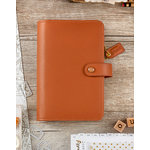Websters Pages - Color Crush Collection - Personal Planner Kit - Camel - Undated