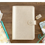 Websters Pages - Color Crush Collection - Personal Planner Kit - Champagne - Undated
