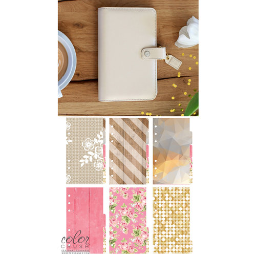 Websters Pages - Color Crush Collection - Personal Planner Kit - Natural - Undated