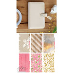Websters Pages - Color Crush Collection - Personal Planner Kit - Natural