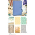 Websters Pages - Color Crush Collection - Personal Planner Kit - Periwinkle