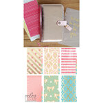 Websters Pages - Color Crush Collection - Personal Planner Kit - Platinum Rose