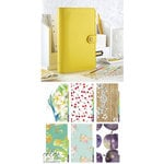 Websters Pages - Color Crush Collection - Personal Planner Kit - Yellow - Undated
