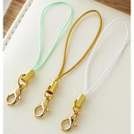 Websters Pages - Color Crush Collection - Charms - Little Loops - Gold Mint