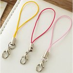 Websters Pages - Color Crush Collection - Charms - Little Loops - Pink Lemonade