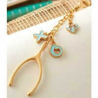 Websters Pages - Color Crush Collection - Charms - Lucky in Love
