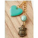 Websters Pages - Color Crush Collection - Charms - Watching Heart