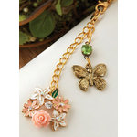 Websters Pages - Color Crush Collection - Charms - Garden Bouquet