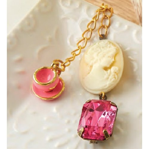 Websters Pages - Color Crush Collection - Charms - Tea Time