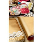 Websters Pages - Color Crush Collection - CraftMate Folio - Gold