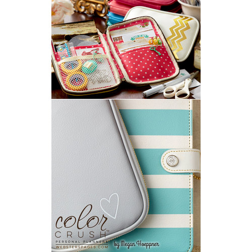 Websters Pages - Color Crush Collection - CraftMate Folio - Grey