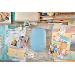 Websters Pages - Color Crush Collection - CraftMate Folio - Slate Blue