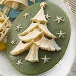 Websters Pages - Silhouettes - Resin Cameo Pieces - Green Tree