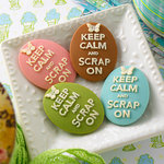 Websters Pages - Perfect Accents - Perfect Accents - Resin Cameo Pieces - Scrap On
