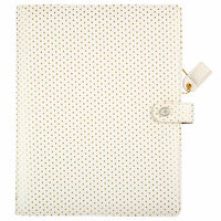 Websters Pages - Color Crush Collection - Composition Planner - Embossed Gold Dot