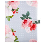 Websters Pages - Color Crush Collection - Composition Planner - Grey Floral