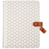 Websters Pages - Color Crush Collection - Composition Planner - Copper Hexagon